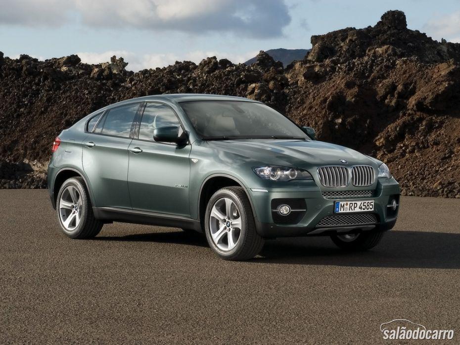 Novo BMW X6 já está disponível no Brasil.