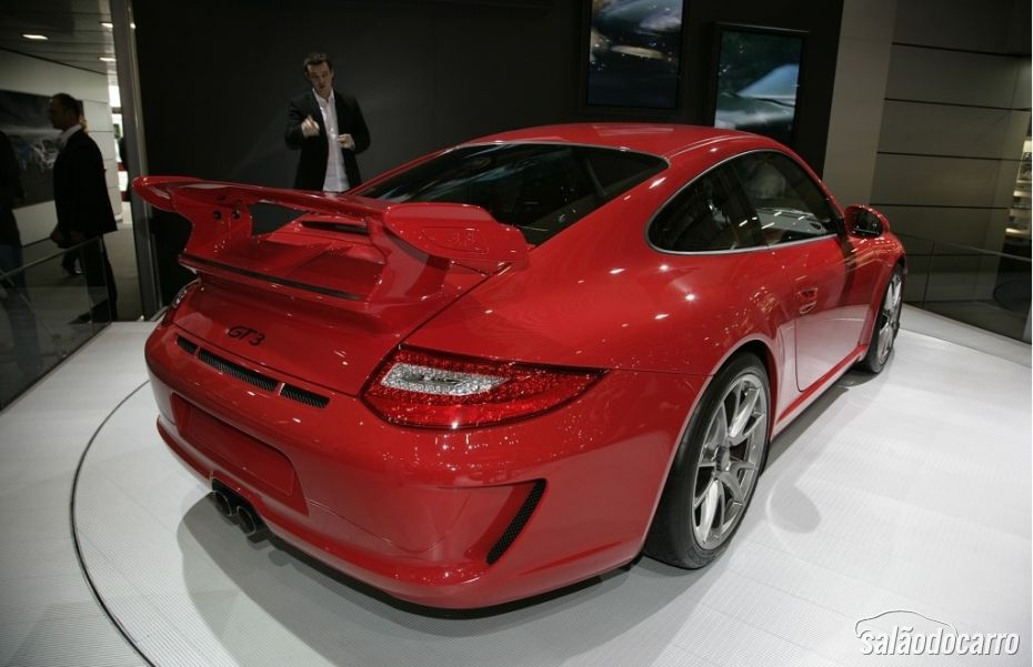 Esta é a quinta geração do Porsche 911 GT3