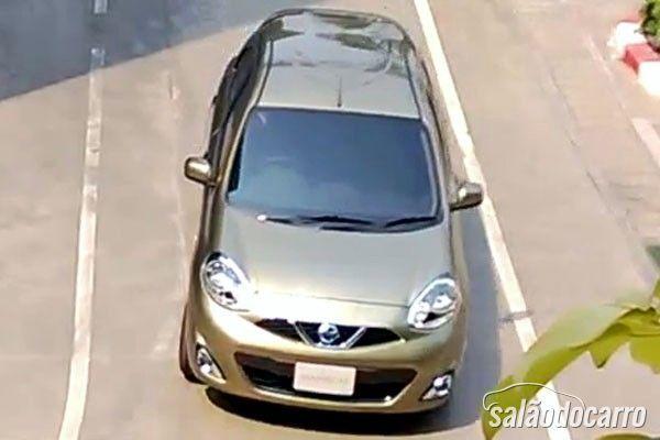 Novo Nissan March flagra