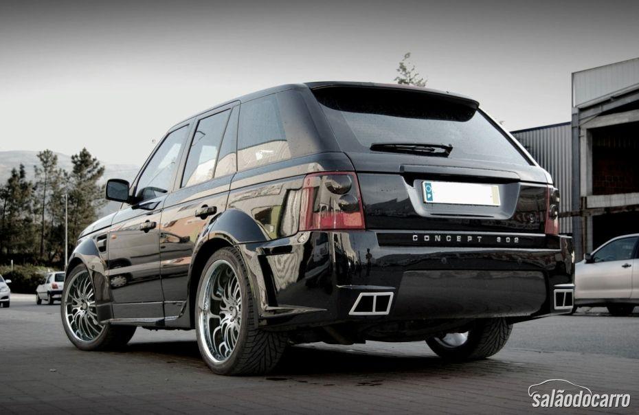 Modelo antigo do Range Rover Sport será apresentado com novo Design.