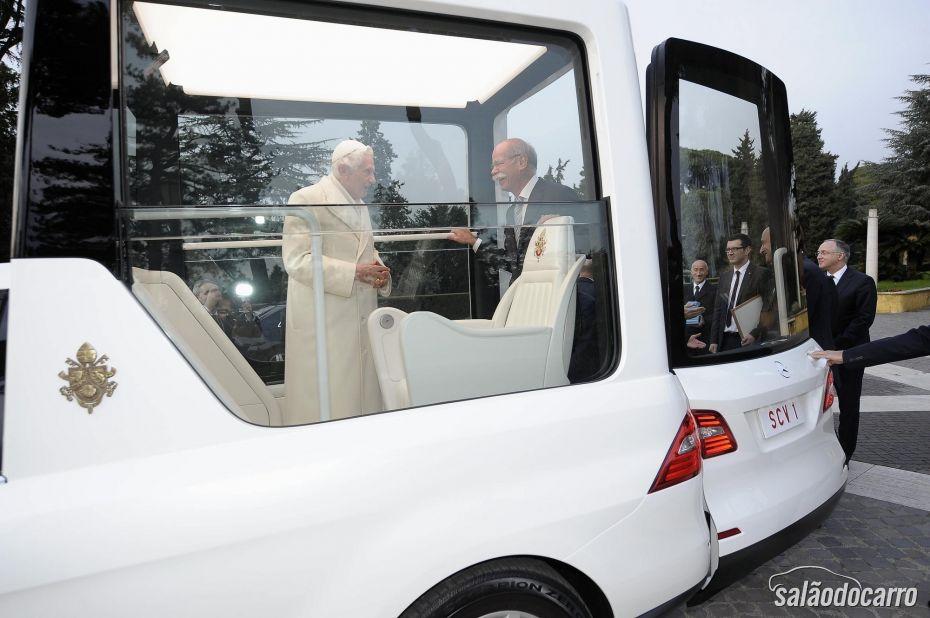 Carro entregue para Bento XVI agora será utilizado por Francisco I