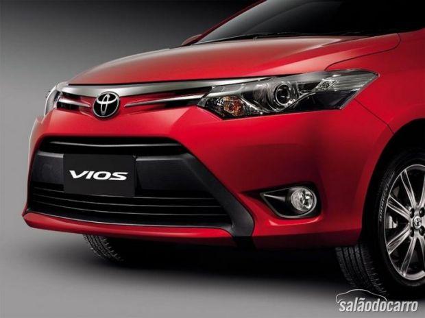 Toyota Vios terá única opção de motor.