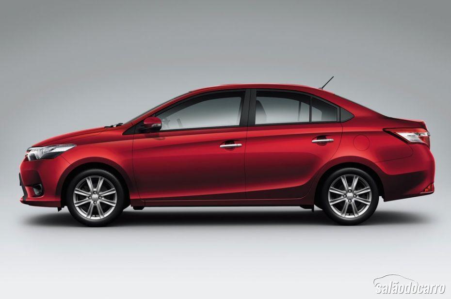 Toyota Vios poderá ser fabricado no Brasil.