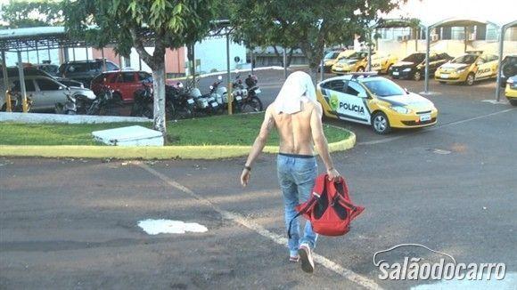 Jaime Melo preso pela polícia do PR.