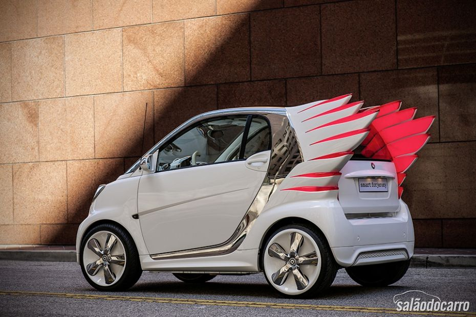 """Smart vai lançar carros com """"asas"""" - Foto 3"""