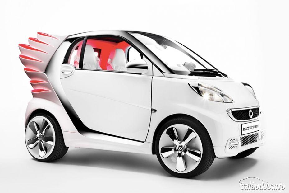 """Smart vai lançar carros com """"asas"""" - Foto 4"""