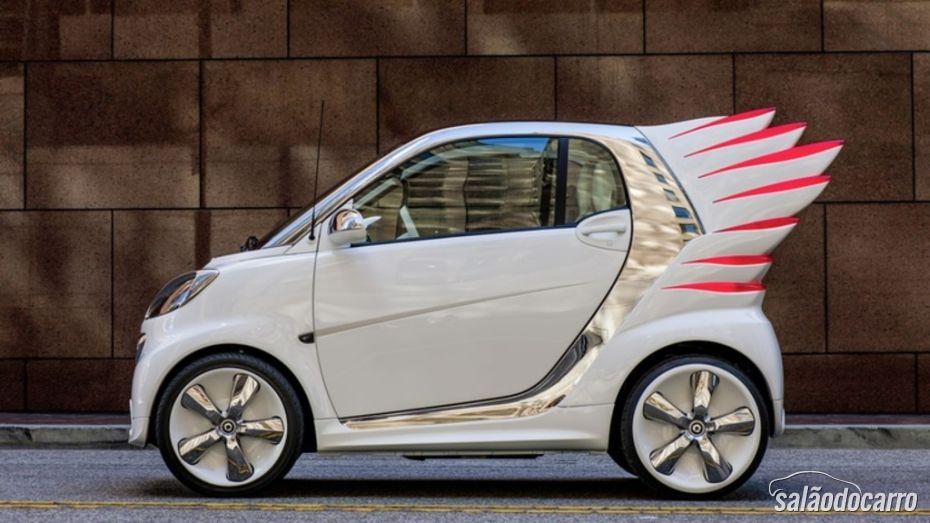 """Smart vai lançar carros com """"asas"""" - Foto 7"""