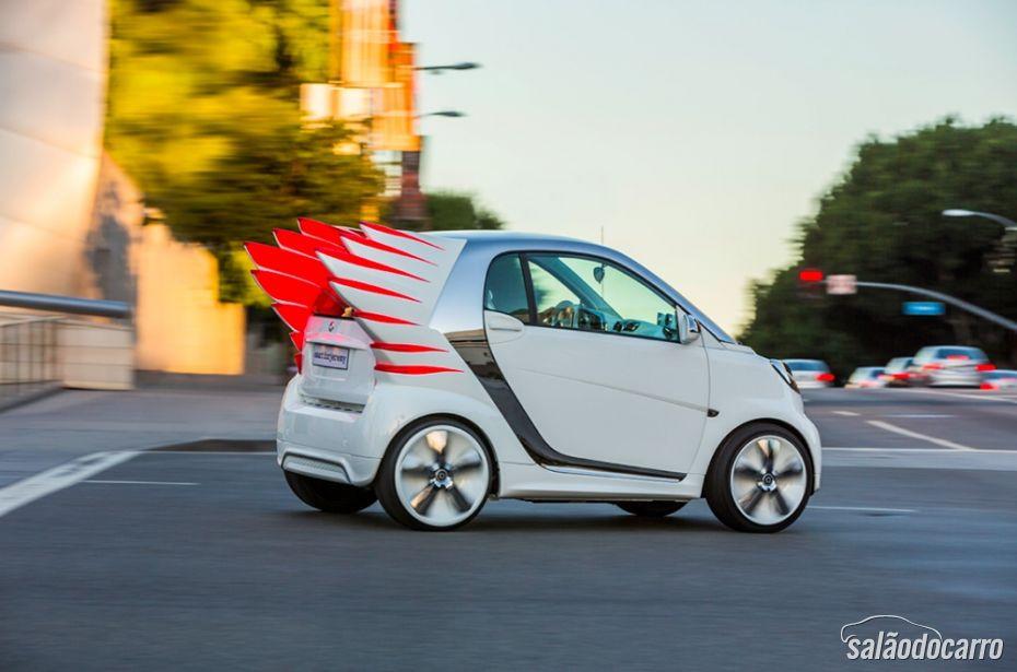 """Smart vai lançar carros com """"asas"""" - Foto 9"""