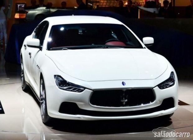 Maserati Ghibli foi apresentado em Xangai