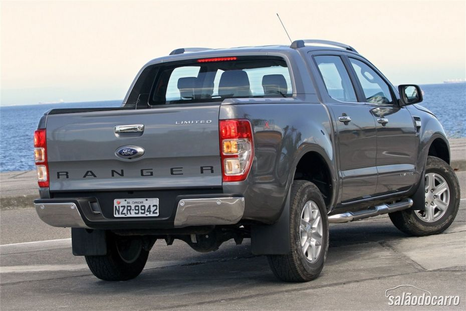 Ford Ranger Limited diesel - Traseira