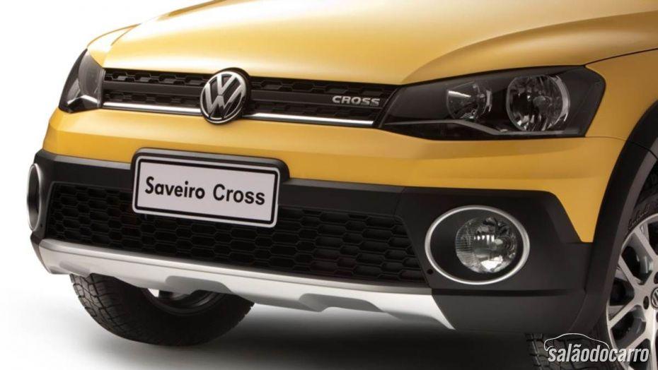 Saveiro Cross 2014 teve alteração na parte da frente.