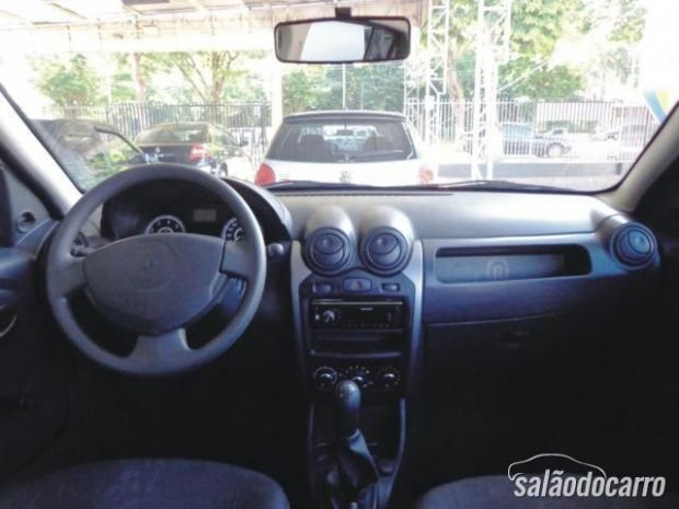 Interior do Renault Sandero do Marcos Lopes