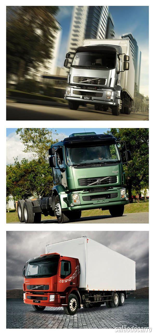 Linha Volvo VM 10 anos