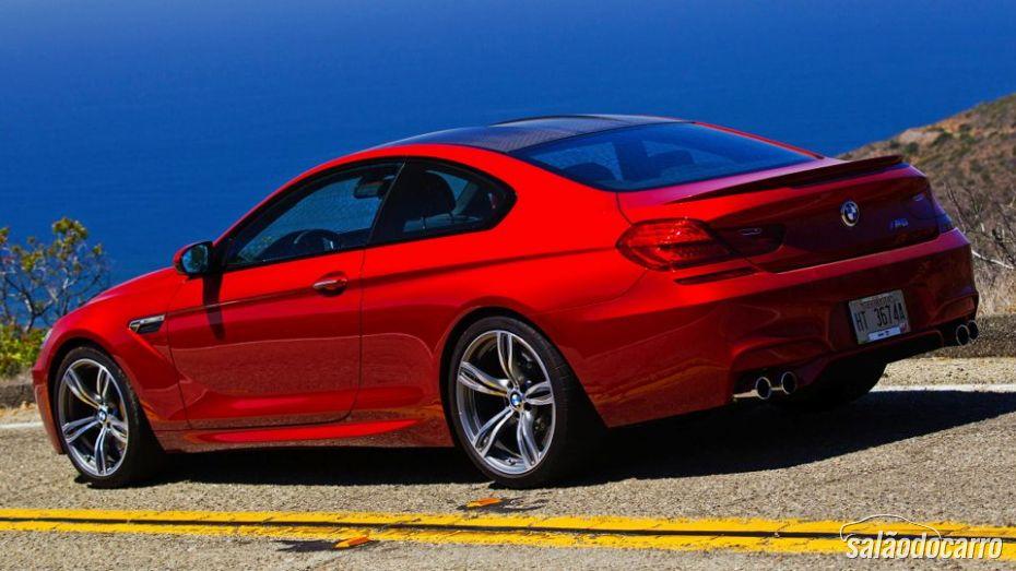 BMW M6 chega ao Brasil.