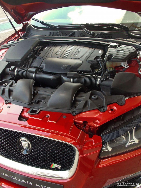 Jaguar XFR - Motor