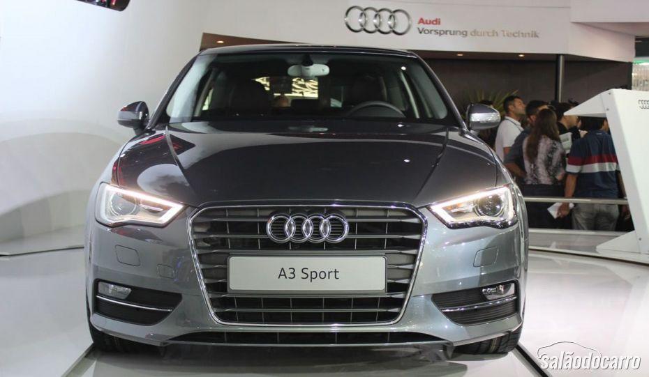 Audi A3 Sport conta com diversos itens de série.