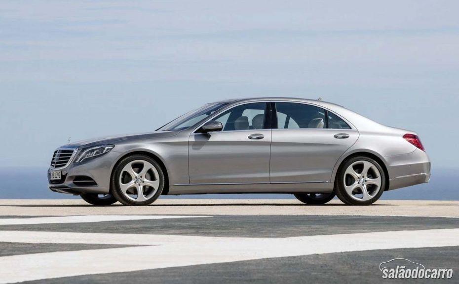 Mercedes Classe S teve algumas mudanças no design.