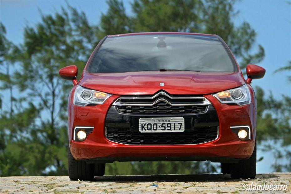 Citroën DS4 - Frente estilosa