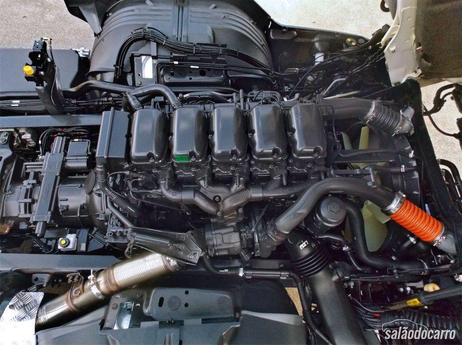 Scania P310 - Motor