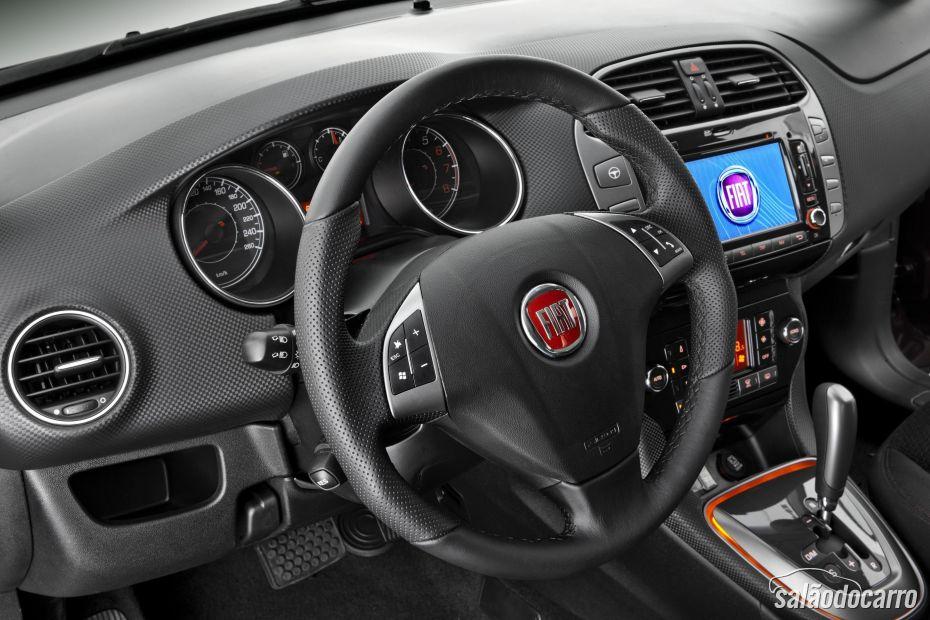 Fiat Bravo 2014 conta com alguns novos itens de série.