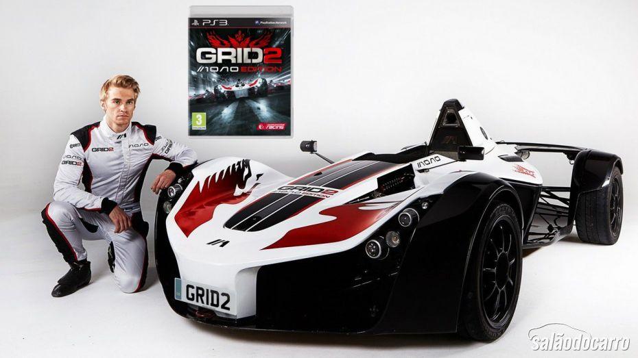 Grid 2 foi lançado com uma versão especial com um carro de verdade.