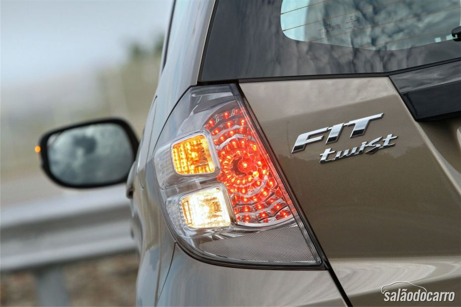 Honda Fit Twist - Detalhe da Lanterna