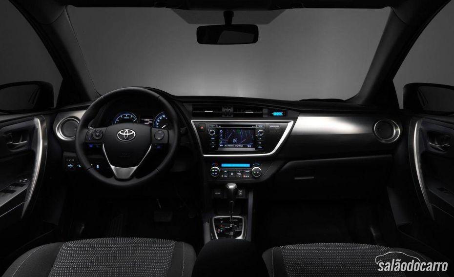 Interior do novo Corolla 2014, lançado nos EUA