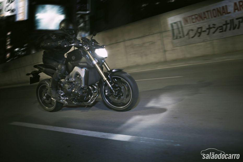 Yamaha lança MT-09 - Foto 5