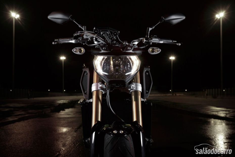 Yamaha lança MT-09 - Foto 6