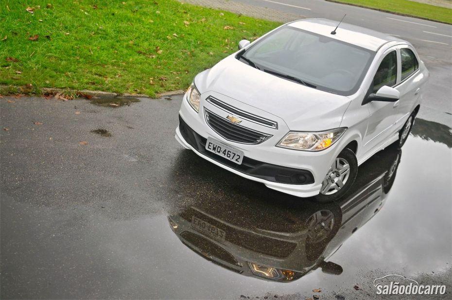 Chevrolet Prisma - Visão superior