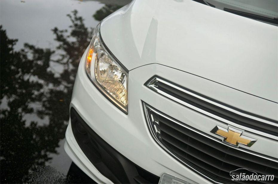 Chevrolet Prisma - Detalhe do Farol