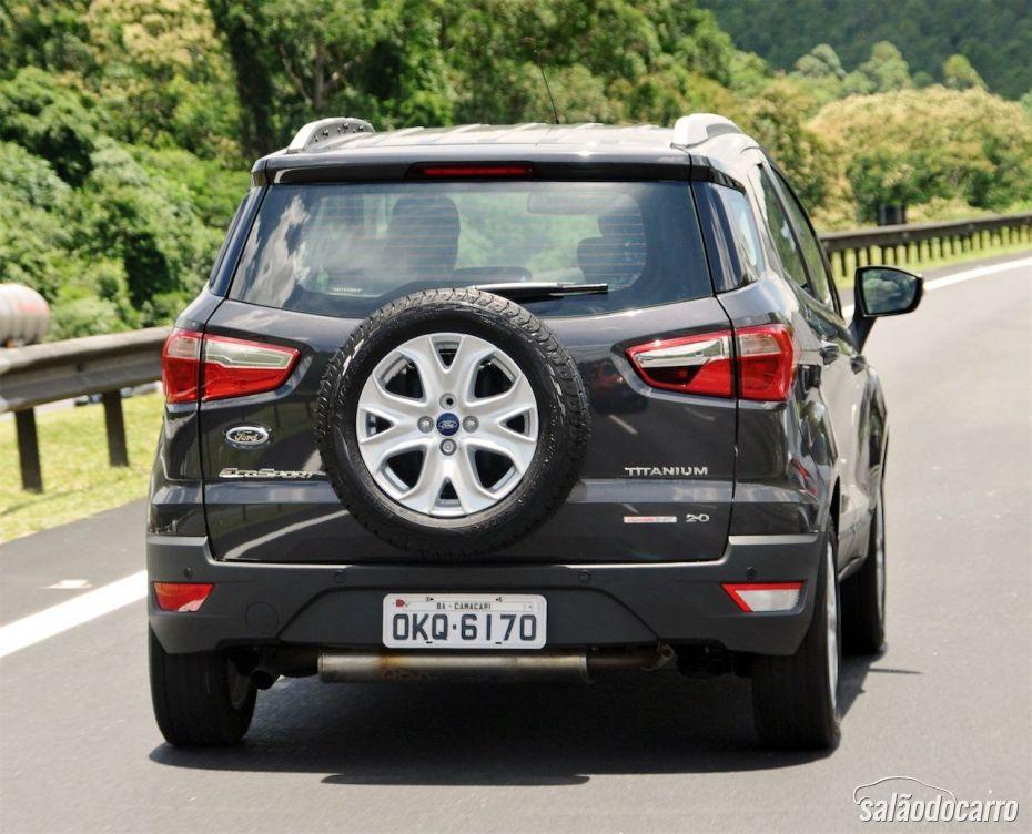 Ford Ecosport - Detalhe da traseira