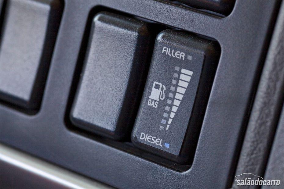Volvo FM 460 - Detalhe botão painel