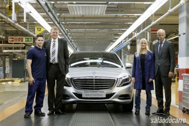 Classe S começou a ser produzido na Alemanha.