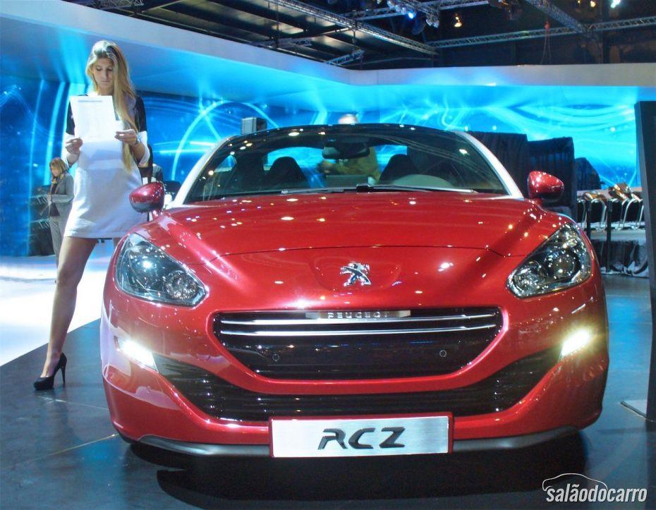 Novo Peugeot RCZ