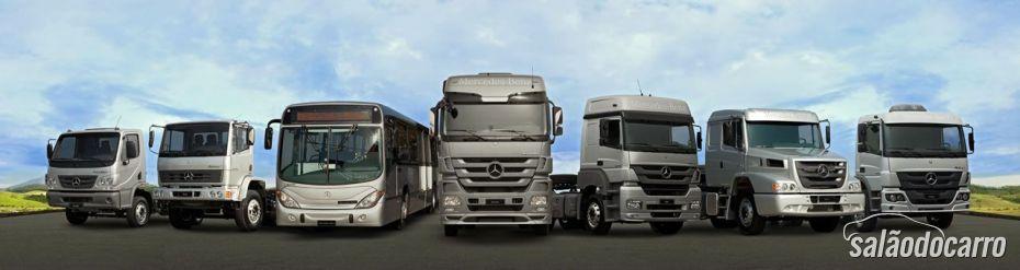 Caminhões da Mercedes-Benz