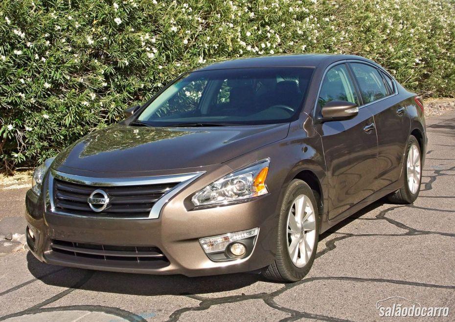 Visão geral do Nissan Altima