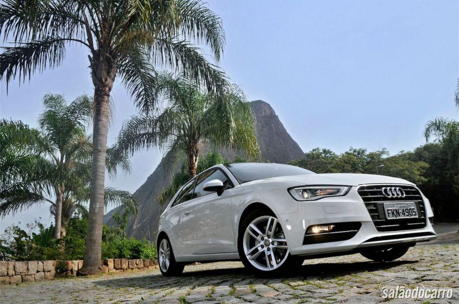 Novo Audi A3 Sport - Pegada esportiva