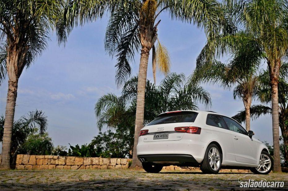 Novo Audi A3 Sport - Visão traseira