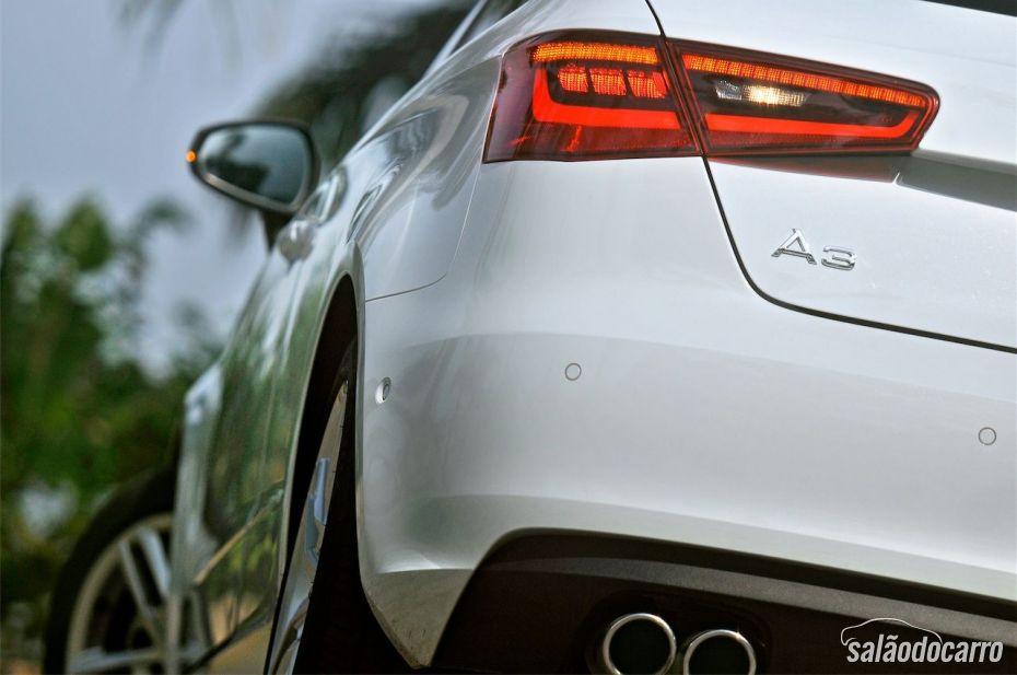 Novo Audi A3 Sport - Detalhe da lanterna traseira