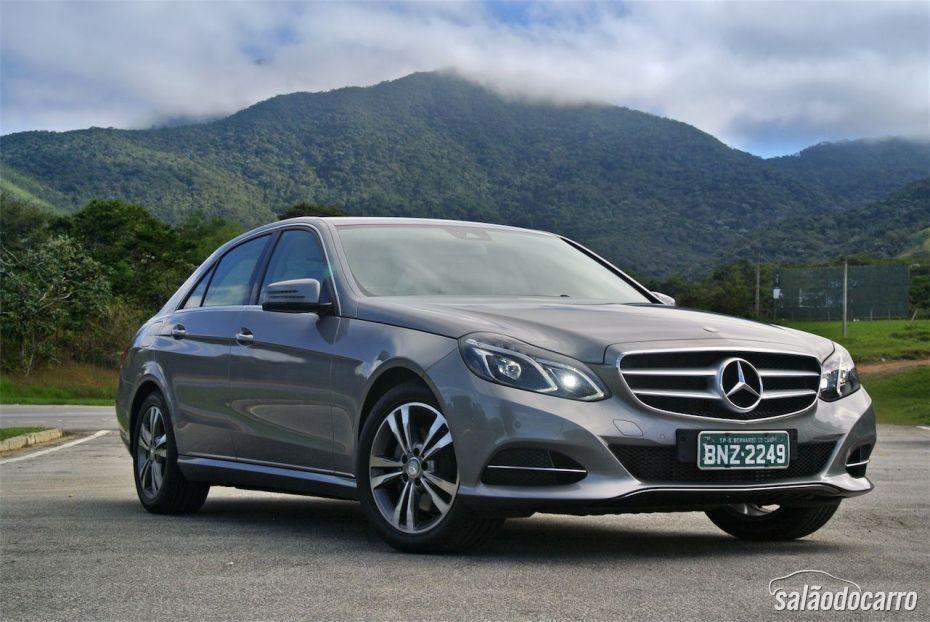 Mercedes-Benz Classe E - Frente