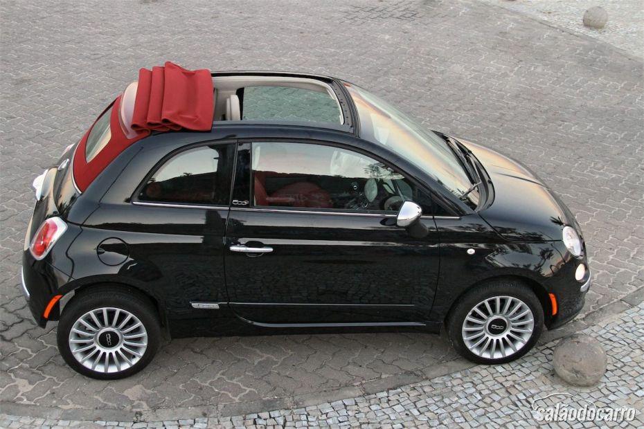 Fiat 500C - Fechamento do teto