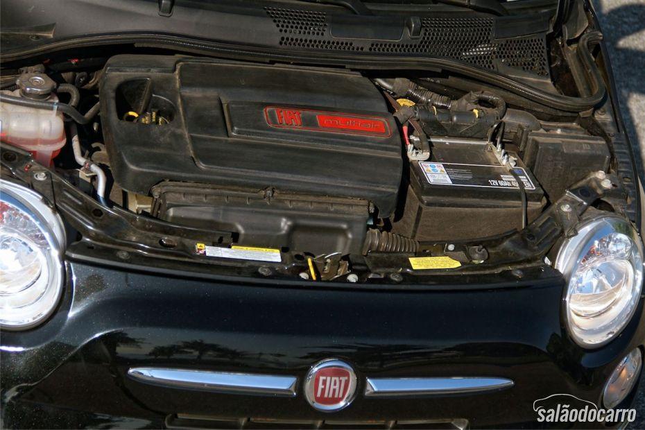 Fiat 500C - Motor