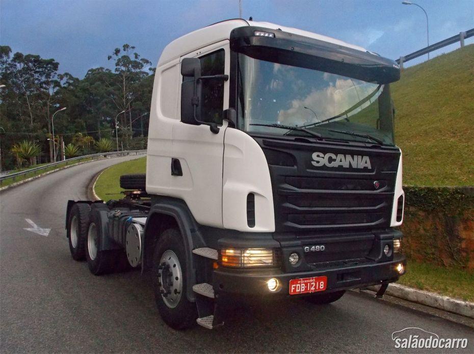 Scania G480 - Visão geral