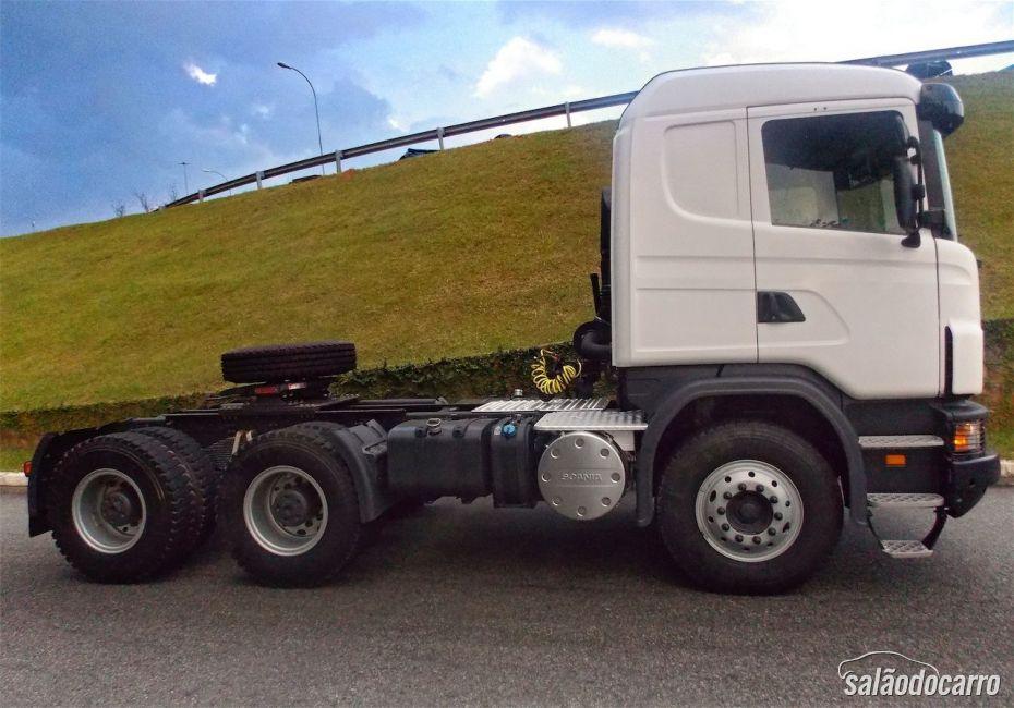 Scania G480 - Visão lateral