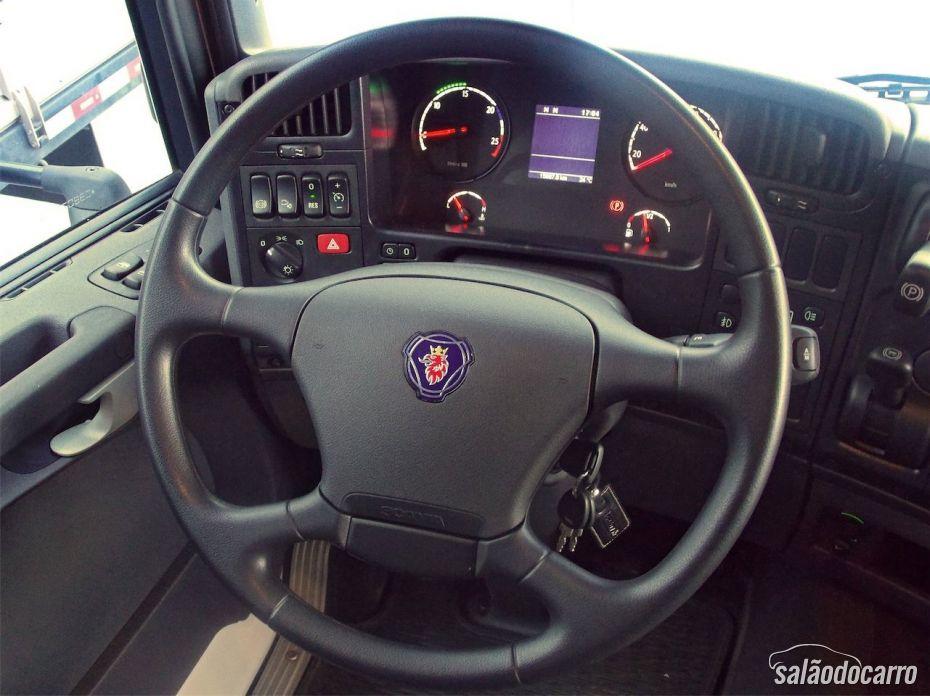 Scania G480 - Interior