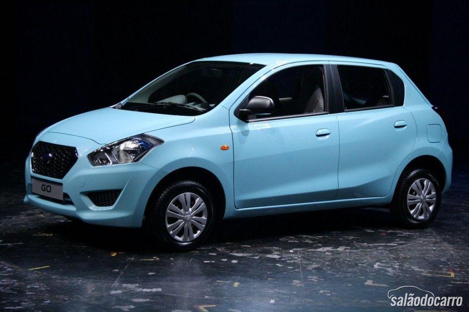 Go é o primeiro lançamento da retomada da Datsun.