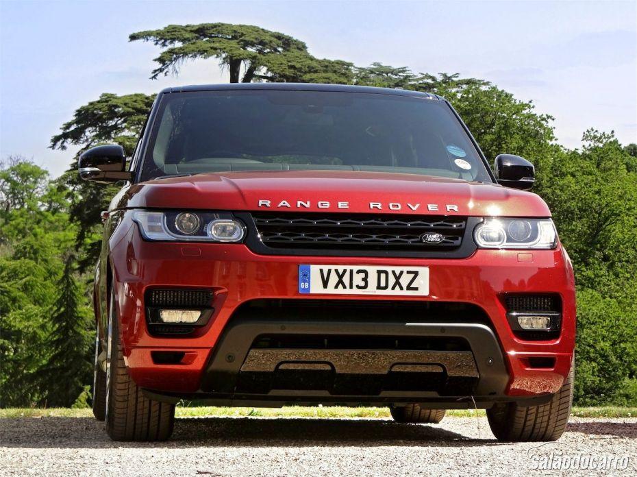 Range Rover Sport - Visão frontal