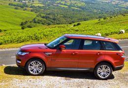 Range Rover Sport - Vista lateral