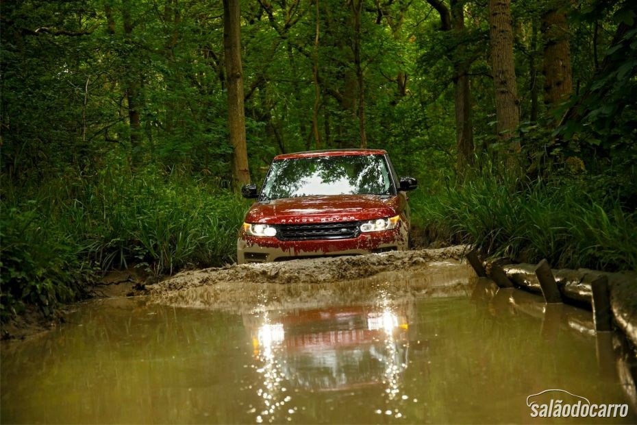 Ranger Rover Sport no off-road